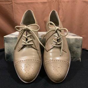 💋BNIB!💋Vintage Nine West Lace-Up Leather Oxfords